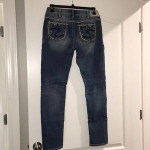 Silver brand suki skinny jeans size 31